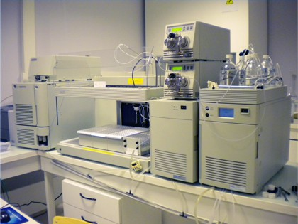 chemical analysis LC/MS Auto Purification System–Waters