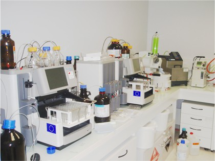 chemical analysis: Flash chromatography_Automated separation of mixtures