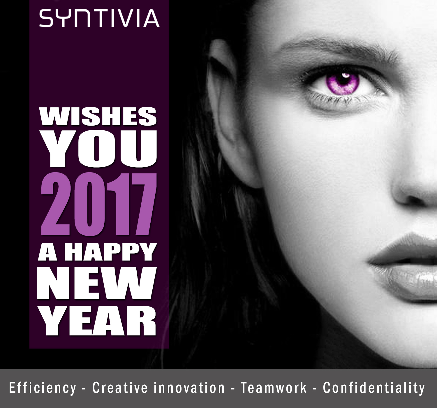 Happy New Year 2017 Wishes: Syntivia Wishes You A Happy New Year 2017
