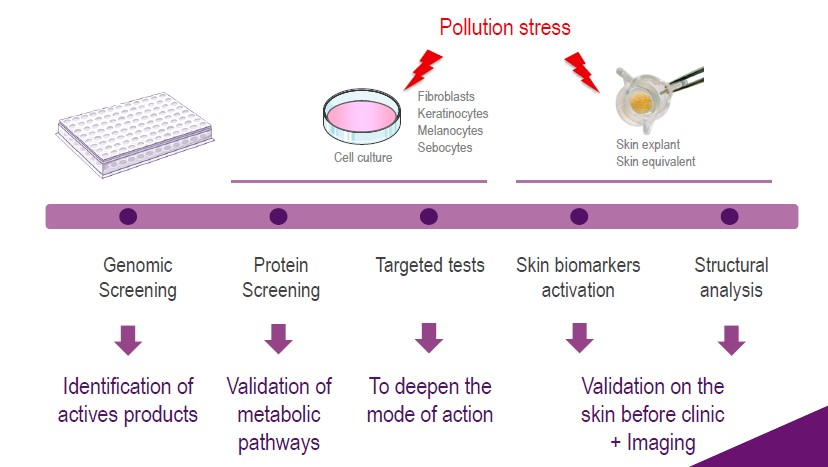 Syntivia cosmetic products screening